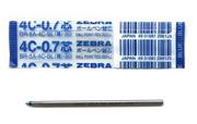 Zebra Refil 0.7 Mm 4c Mavi Br-8a-4c-bl