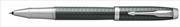 Parker IM Premium Chrome Grafik Çapraz Gravürlü Nefti Yeşil Roller Kalem