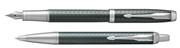 Parker IM Premium Çapraz Gravürlü Nefti Yeşil Dolma Kalem + Tükenmez Kalem