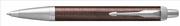 Parker IM Premium Chrome Hekzagonal Gravürlü Metalik Kahve Tükenmez Kalem