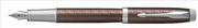 Parker IM Premium Chrome Hekzagonal Gravürlü Metalik Kahve Dolma Kalem