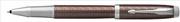 Parker IM Premium Chrome Hekzagonal Gravürlü Metalik Kahve Roller Kalem