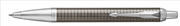 Parker IM Premium Chrome Kare Gravürlü Koyu Espresso Tükenmez Kalem