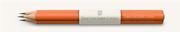 Graf von Faber-Castell Sedir Ağacı Guilloche İşlemeli Yanık Turuncu gövdeli Kurşun Kalem 3 lü