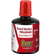 Brons Board Marker Mürekkebi Kirmizi 100 Cc Br-355