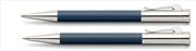 Graf von Faber-Castell Tamitio Mat Lake Gece Mavisi Tükenmez Kalem + M.Kurşun Kalem