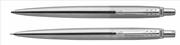 Parker Jotter SS CT Paslanmaz Mat Çelik/Krom Klips Tükenmez Kalem + Versatil Kalem