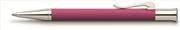 Graf von Faber-Castell Guilloche Desen Elektrik Pembe Tükenmez kalem