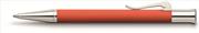 Graf von Faber-Castell Guilloche Desen Yanık Turuncu Tükenmez kalem