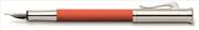 Graf von Faber-Castell Guilloche Desen Yanık Turuncu Dolma kalem