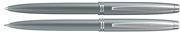 Scrikss Prestige 108 Tükenmez Kalem + 0.7mm M.Kurşun Kalem Takım - Metalik Gri