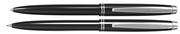 Scrikss Prestige 108 Tükenmez Kalem + 0.7mm M.Kurşun Kalem Takım - Metalik Siyah