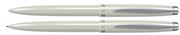 Scrikss Prestige 108 Tükenmez Kalem + 0.7mm M.Kurşun Kalem Takım - Sedef Beyaz