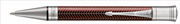 Parker Duofold Prestige Metalic Burgundy Chevron/Paladyum Tükenmez Kalem