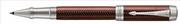 Parker Duofold Prestige Metalic Burgundy Chevron/Paladyum Roller Kalem