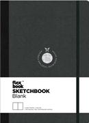 Flexbook Sketchbook Esnek Kapak Siyah/Siyah Kenar 15,5x21,5cm