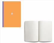 Flexbook Smartbook Ruled Esnek Kapak Turuncu/Mor Kenar 13x21cm