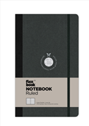 Flexbook Notebook Ruled Esnek Kapak Siyah/Siyah Kenar 13x21cm