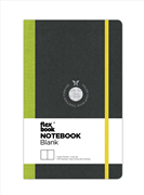Flexbook Notebook Blank Esnek Kapak Siyah/Yeşil Kenar 13x21cm