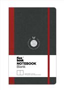 Flexbook Notebook Blanc Esnek Kapak Siyah/Kırmızı Kenar 13x21cm