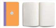 Flexbook Smartbook Ruled Esnek Kapak Turuncu/Mor Kenar 9x14cm