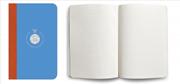 Flexbook Smartbook Ruled Esnek Kapak Mavi/Turuncu Kenar 9x14cm