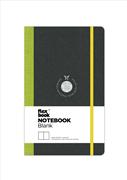 Flexbook Notebook Blank Esnek Kapak Siyah/Yeşil Kenar 9x14cm