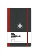 Flexbook Notebook Blanc Esnek Kapak Siyah/Kırmızı Kenar 9x14cm