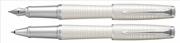 Parker Urban Premium Metalik İnci Beyaz/Krom Dolma Kalem + Roller Kalem