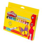 Play-doh Jumbo Keçeli K. Karton 12 Renk Play-ke010