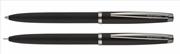 Scrikss Prestige 108M Tükenmez Kalem + 0.7mm M.Kurşun Kalem Takım - Mat Siyah