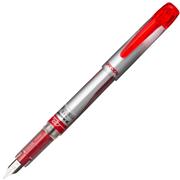 Platinum Preppy Poly Carbonate Gövde Dolma Kalem - Kırmızı-0.2mm(Extra Fine-Çok İnce)