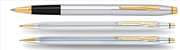 Cross Century Classic Medalist Krom/Altın Roller kalem + Tükenmez Kalem + Versatil Kalem