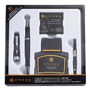 CROSS Bailey Lake Siyah Dolma Kalem + Pompa + Mürekkep + Kartuş Hediye Kutulu Set
