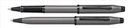 Cross Century II Silah Metali Gri/Siyah PVD Roller Kalem + Tükenmez Kalem<br><img src= resim/isyaz.gif  border= 0 />