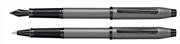 Cross Century II Silah Metali Gri/Siyah PVD Dolma Kalem + Roller Kalem<br><img src= resim/isyaz.gif  border= 0 />