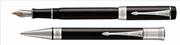 Parker Duofold Classic1921 Black-Akrilik/Paladyum Dolma Kalem + Tükenmez Kalem