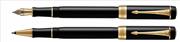 Parker Duofold Classic1921 Black-Akrilik/Altın Dolma Kalem + Roller Kalem