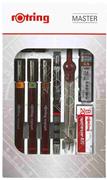 Rotring Rapido Seti Pergelli (02-03-05)+0.5mm Tikky M. Kurşun Kalem 699430