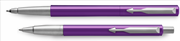 Parker Vector Mor/Krom Roller Kalem + Tükenmez Kalem<br><img src= resim/isyaz.gif  border= 0 />
