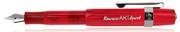 Kaweco Art Sport Rosit Akrilik Kırmızı Gölgeli Dolma Kalem - 2 Farklı Uç Seçeneği