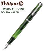 Pelikan Classic 205 Olivine Dolma Kalem - 4 Farklı Uç Seçeneği