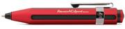 Kaweco AC Sport Mat Kırmızı / Karbon Fiber Tükenmez Kalem
