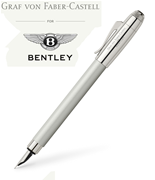 Graf Von Faber-Castell for Bentley White Satin Renk Dolma Kalem