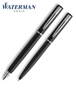 Waterman Allure Siyah/Paladyum Dolma Kalem + Tükenmez Kalem