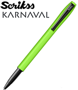 Scrikss Karnaval Metal Roller Kalem - Neon Yeşil