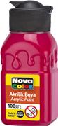 Nova Color Akrilik Boya Şişe 100 Gr Kırmızı Nc-2011