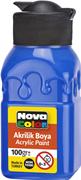 Nova Color Akrilik Boya Şişe 100 Gr Mavi Nc-2012