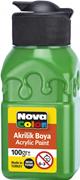 Nova Color Akrilik Boya Şişe 100 Gr Yeşil Nc-2013