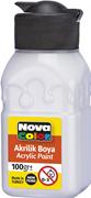 Nova Color Akrilik Boya Şişe 100 Gr Beyaz Nc-2014